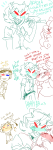 aradia_megido blush dongoverload legal_ramifications shipping sollux_captor terezi_pyrope text trollcops word_balloon