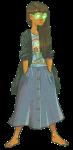 barefoot casual fashion jade_harley lovisa nintendo solo the_legend_of_zelda transparent