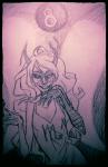 8_ball artificial_limb fairy_dress sketch solo vriska_serket weisbrot