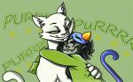 hug lusus nepeta_leijon pounce_de_leon purpleskulldog text