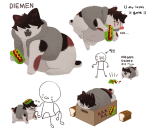 animalstuck cats crying diemen_xicali food hiveswap kang0-0a mspa_reader multiple_personas oblong_meat_product text