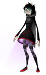 artist-in-training dogtier godtier jade_harley solo space_aspect transparent witch