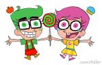 cosmickidder crossover fairly_odd_parents jake_english jane_crocker spiral_sucker trickster_mode