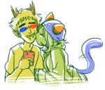 kiss lemon_lime nepeta_leijon redrom shipping sollux_captor spacey