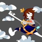 au clouds crown fandom fandomstuck kingdom_hearts tertiarycat