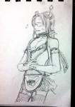 crossdressing equius_zahhak leekam saucy_maid_outfit solo