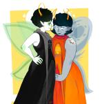 aranea_serket dancestors dream_ghost godtier kanaya_maryam light_aspect questionedsleeper rainbow_drinker request shipping silfs space_aspect sylph