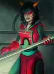 abby ancestors dragonhead_cane epic neophyte_redglare solo sufferer_necklace weapon zodiac_symbol