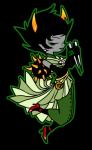 fashion flowers formal kanaya_maryam marchenstuck matriorb non_canon_design pigeon6 quills_of_echidna solo weapon zodiac_symbol