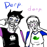 clothingswap grimdorks john_egbert pungoeshere rose_lalonde shipping source_needed starter_outfit