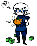 gastrictank godtier perfectly_generic_object pumpkin rogue roxy_lalonde solo transparent void_aspect