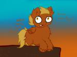 amputation crossover fluffy_pony invaderfan my_little_pony ponified solo tavros_nitram text