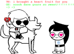 becquerel crossover dave_strider heart image_manipulation jade_harley johnlalondestrider redrom shipping spacetime text unknown_crossover