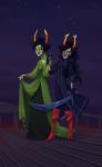 ancestors blindsprings dubcon fashion holding_hands marquise_spinneret_mindfang shipping stars the_dolorosa vampir8s