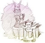 ancestors beverage blackrom condual her_imperious_condescension loscomicos orphaner_dualscar shipping sketch