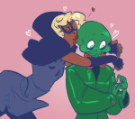 blush calliope godtier heart hug kiss paradoxcomplete redrom ring_of_life rogue roxy_lalonde shipping snake_wine void_aspect