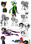 8-xenon-8 art_dump back_to_back beta_kids blind_sollux con_heir coolkids dave_strider dogtail dogtier dragon_cape empiricist's_wand eridan_ampora erisolsprite freckles humanized jade_harley john_egbert kanaya_maryam karkat_vantas kats_and_dogs nepeta_leijon no_glasses no_hat rose_lalonde rosemary seeing_terezi shipping smiling_eridan sollux_captor sprite starter_outfit strife terezi_pyrope vriska_serket