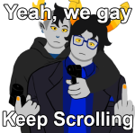 arm_around_shoulder galekh_xigisi gun hiveswap mallek_adalov mccreal meme redrom shipping text the_finger