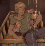 babies bro dave_strider mariedisgrace no_glasses no_hat size_difference sleeping smuppets