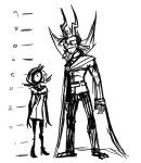 dojo eridan_ampora height_chart roxy_lalonde sketch