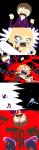 au blood chainsaw comic crossover image_manipulation justin_bieber ke$ha ke$hastuck lux-tempestas pixel