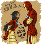 arms_crossed crossover iron_lass_suit iron_man jade_harley marvel thebucketwhisperer