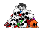 breath_aspect crying dave_strider davesprite dreamself felt_duds four_aces_suited godtier heir john_egbert knight multiple_personas pixel pseudo-innocent-clown red_baseball_tee red_plush_puppet_tux sprite time_aspect timetables