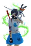 aspect_symbol blackoutballad blood jane_crocker kid_symbol lil_sebastian robot