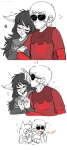 ! ? blush dave_strider dogtier godtier headpats jade_harley redrom shipping source_needed spacetime uhoh-beek