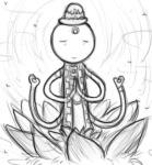 godhead_pickle_inspector grayscale kompepperochu problem_sleuth_(adventure) solo