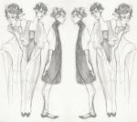 art_dump fashion formal grayscale kanaya_maryam lipstick_tube pencil solo thyphos-tales