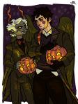 caliborn caliborn's_self-insert callie_ohpeee calliope halloweenstuck pumpkin roachpatrol siblings:caliborncalliope