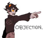 ace_attorney crossover karkat_vantas karkinophile solo text