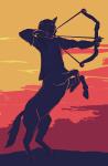 bow centaurs equius_zahhak hornographic solo