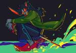 dragon_cane homestuck^2 solo terezi_pyrope tomatograter