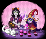 cats crossover fashion food god_cat league_of_legends nepeta_leijon no_hat theneonwerewolf