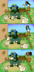 abessivelyelegant animals comic jade_harley minecraft nepeta_leijon