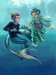 crossover eridan_ampora orsob touhou underwater