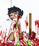 blood gore hibrid john_egbert ohgodwhat psychojohn sledgehammer solo