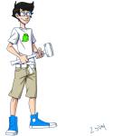 2sday john_egbert sledgehammer solo starter_outfit