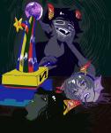 blood decapitation jade_harley john_egbert psychojohn rose_lalonde trollified warhammer_of_zillyhoo zebeck