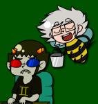 bucket crossover honeybee_professor mii-kami problem_sleuth_(adventure) sollux_captor