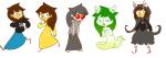 aspect_hoodie dogtier dreamself godtier jade_harley jadebot jadesprite multiple_personas niftey space_aspect sprite witch