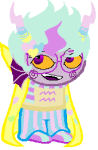 eridan_ampora native_source proxykitkat smiling_eridan solo sprite_mode trickster_mode