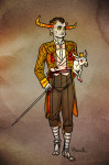 artificial_limb au carrying crown fashion formal hemostuck lusus roachpatrol tavros_nitram tinkerbull