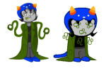 caitlin dream_ghost image_manipulation nepeta_leijon solo sprite_mode this_is_stupid wut zodiac_symbol