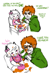 animal_ears babies chazzerpan comic deleted_source food hsg mep metastuck roxy_lalonde