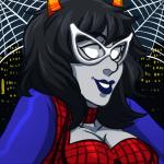 aranea_serket cosplay dancestors dream_ghost halloweenstuck headshot marvel michisama2030 solo spider-man web