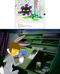 1s_th1s_you andrew_hussie caliborn comic crossover looney_tunes lordnot the_truth