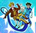adventure_time breath_aspect crossover godtier heir heropop hetalia john_egbert stars thumbs_up